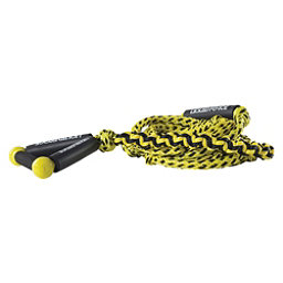 Liquid Force Coiled Wakesurf Rope 2018, Yellow, 256