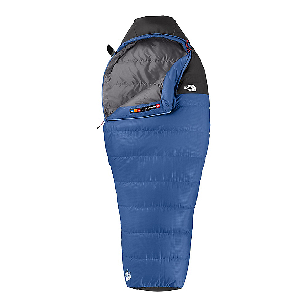 The North Face Tephora 20 Reg Womens Down Sleeping Bag (Previous Season), Marlin Blue-Asphalt Grey, 600