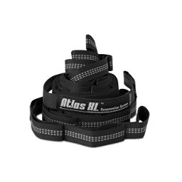 ENO Atlas XL Suspension Strap 2018, Black-Grey, 256