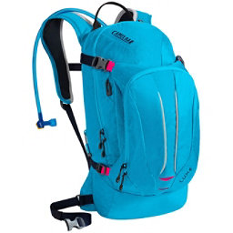 CamelBak L.U.X.E. Hydration Pack, Atomic Blue-Black Iris, 256
