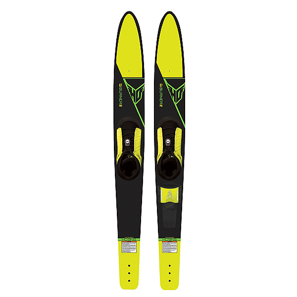HO Sports Burner Pro Combo Water Skis With FreeMAX Bindings 2016, , 600