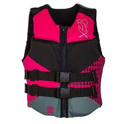 Ronix Daydream Womens Life Vest 2018, Black-Sid Pink, 256