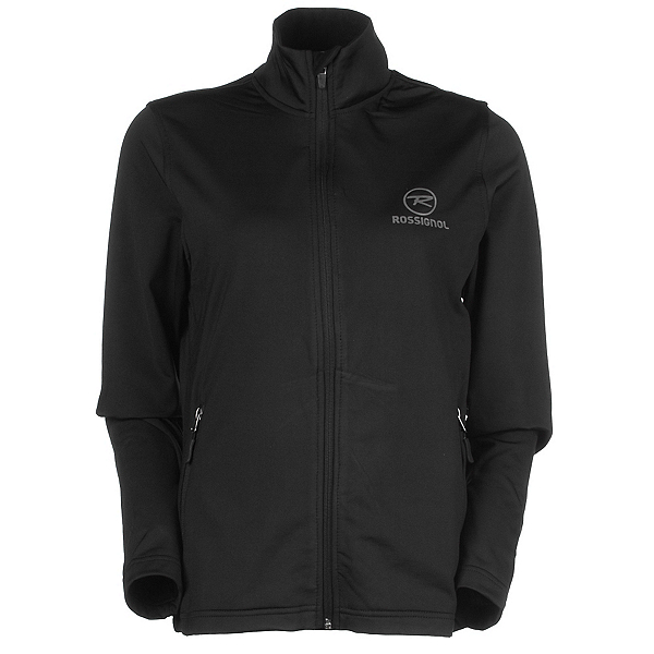 Rossignol Clim Jacket Womens Mid Layer, Black, 600