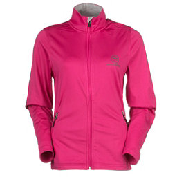 Rossignol Clim Jacket Womens Mid Layer, Berrypink, 256