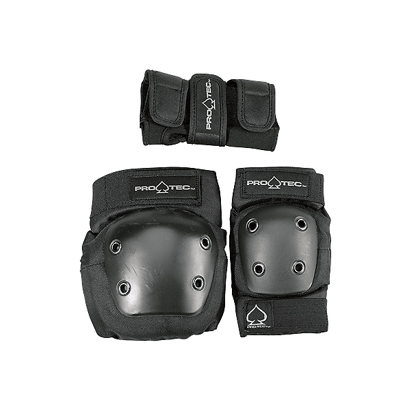 Pro-Tec Street Gear Junior Three Pad Pack 2017, Black, 600