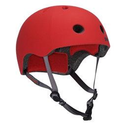 Pro-Tec Street Lite Mens Skate Helmet, Rubber Red, 256