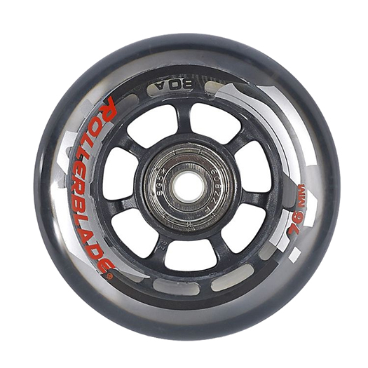 Rollerblade Wheel Kit 76mm/80A Inline Skate Wheels with SG5 Bearings - 8pack 2020 im test