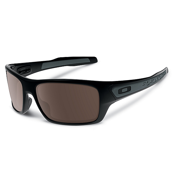 Oakley Turbine Sunglasses, Matte Black-Warm Grey, 600