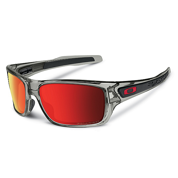 Oakley Turbine Polarized Sunglasses, Gray Ink, 600