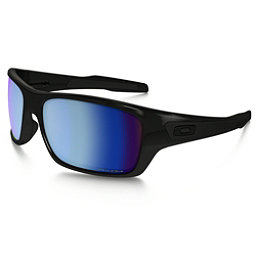 Oakley Turbine Polarized Sunglasses, Polished Black-Prizm Salt Water, 256