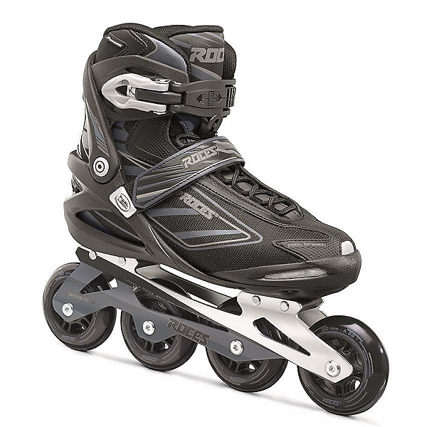 Roces Izi Inline Skates, Black-Charcoal, 600