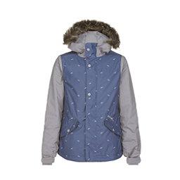 O'Neill Gemstone Girls Snowboard Jacket, Sunrise Blue, 256