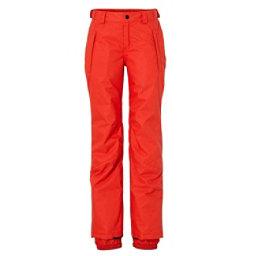 O'Neill Jewel Girls Snowboard Pants, Poppy Red, 256