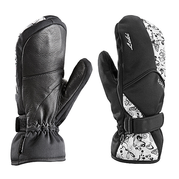 Leki Butterfly S Womens Mittens, Black, 600