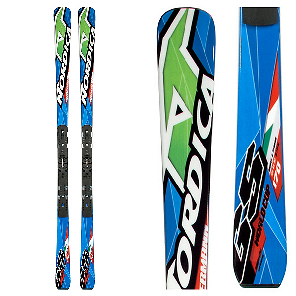 Nordica Dobermann GS Plate Junior Race Skis, , 600