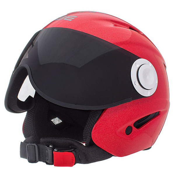OSBE Proton Jr. Kids Helmet, Metal Red, 600
