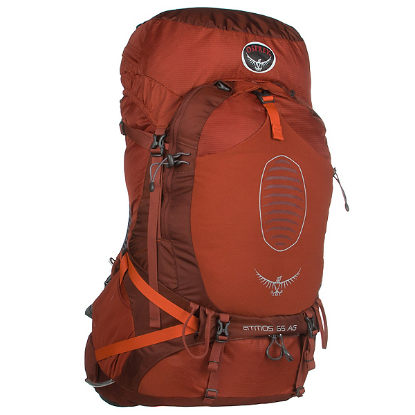 Osprey Atmos AG 65 Backpack 2017, Cinnabar Red, 600