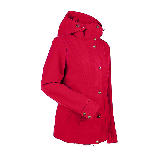NILS Natalie Womens Insulated Ski Jacket, Red, 600