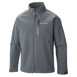Columbia Heat Mode II Mens Soft Shell Jacket, Graphite, 256