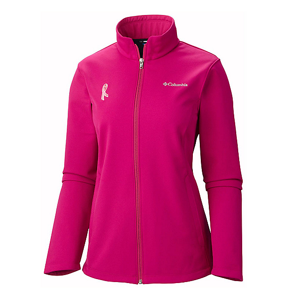 Columbia Tested Tough In Pink Womens Soft Shell Jacket, , 600