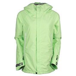 686 GLCR Chrystal Womens Insulated Snowboard Jacket, Chartreuse, 256