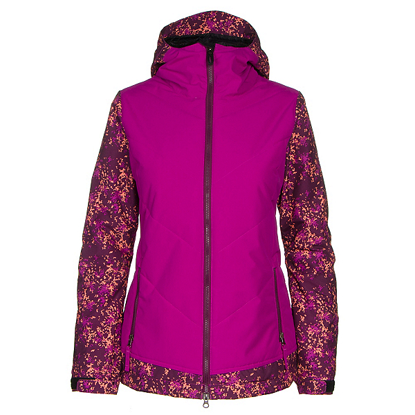 686 Authentic Rhythm Womens Insulated Snowboard Jacket, , 600