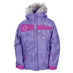 686 Mannual Gidget Puffy Girls Snowboard Jacket, Violet, 256