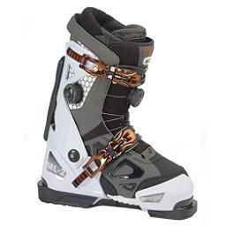 Apex ML-2 Womens Ski Boots, White-Dark Grey, 256