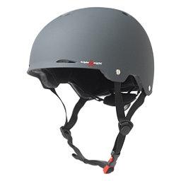 Triple 8 Gotham EPS Liner Mens Skate Helmet 2017, Gun Matte Rubber, 256