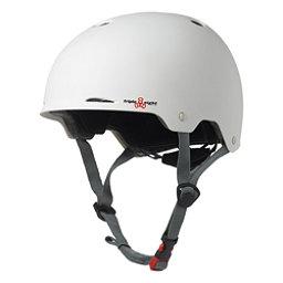 Triple 8 Gotham EPS Liner Mens Skate Helmet 2017, White Matte, 256