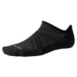 SmartWool PHD Run Light Elite Micro 17 Socks, Black, 256