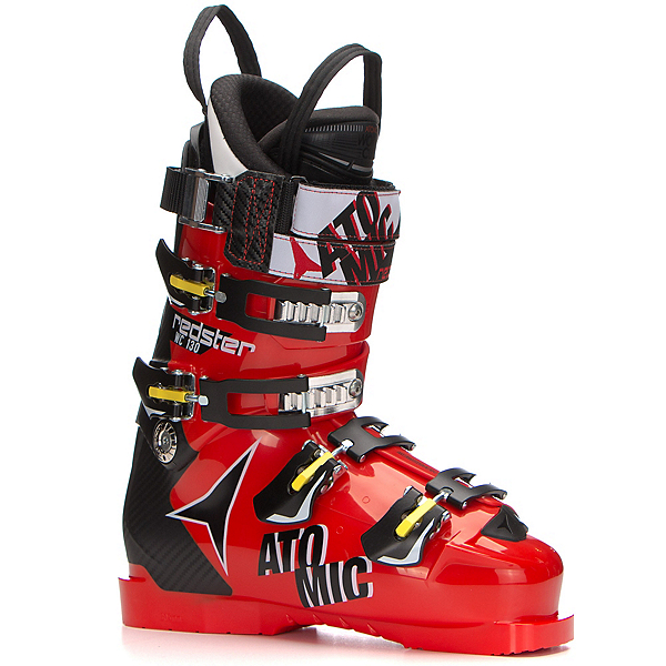 Atomic Redster WC 130 Race Ski Boots, Red-Black, 600
