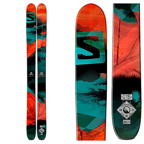 Salomon Q-115 Skis, , 600