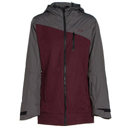 Oakley Quebec Womens Insulated Snowboard Jacket, Aubergine, 256