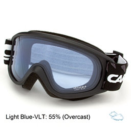 Carrera Arthemis Womens Goggles, Black Matte Diamonds-Light Blu, 256