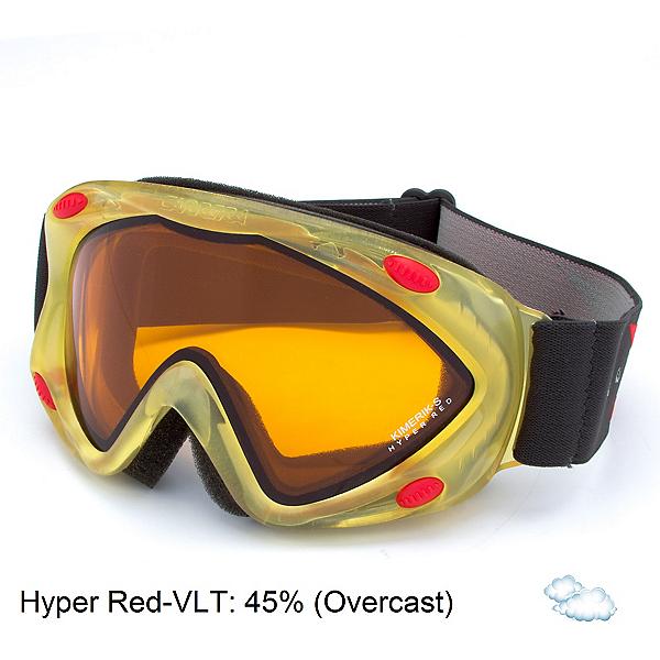 Carrera Kimerik S Kids Goggles, White Racing Sl-Hyper Red Dbl, 600