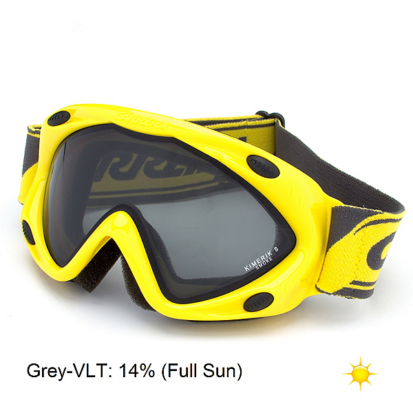 Carrera Kimerik S Kids Goggles, Yellow-Grey, 600