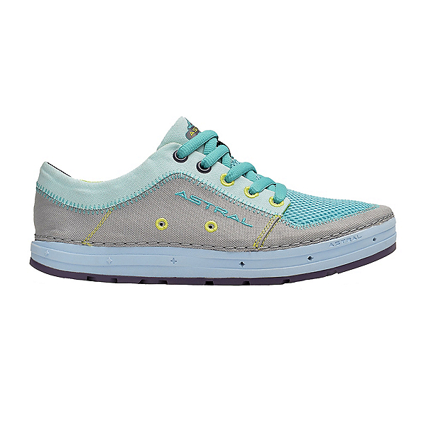 Astral Brewess Womens Watershoes, Gray-Turquoise, 600