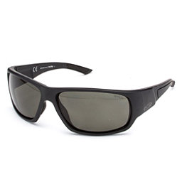 Smith Discord Polar Sunglasses, Matte Black-Polar Gray Green, 256