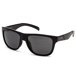 Smith Lowdown Slim Polarized Sunglasses, Black-Polarized Gray, 256