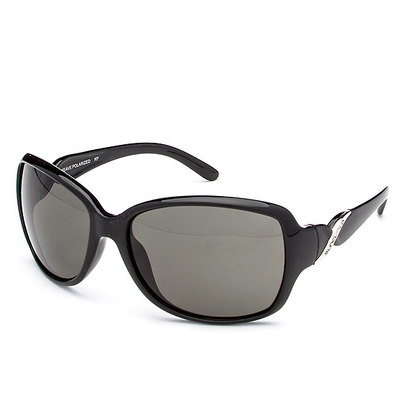 SunCloud Weave Sunglasses, Black-Gray Polarized, 600