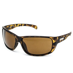 SunCloud Milestone Sunglasses, Matte Tortoise-Brown Polarized, 256