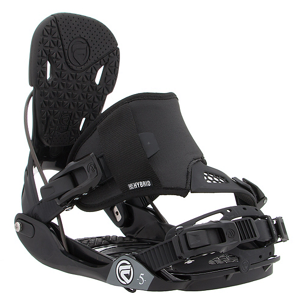 Flow Five Hybrid Snowboard Bindings, , 600