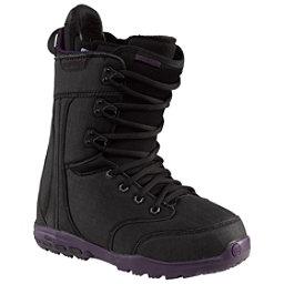 Burton Sapphire Womens Snowboard Boots, Black-Black, 256