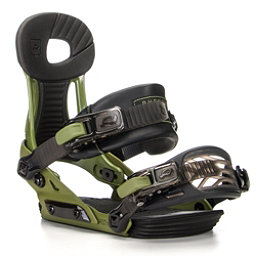 Ride Phenom Kids Snowboard Bindings, Green, 256