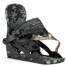 Ride Micro Kids Snowboard Bindings, Black, 256