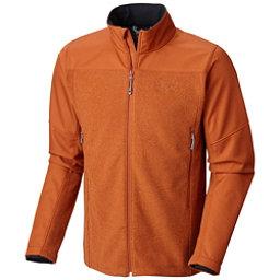Mountain Hardwear Hybrid Toasty Tweed Mens Jacket, Dark Adobe, 256