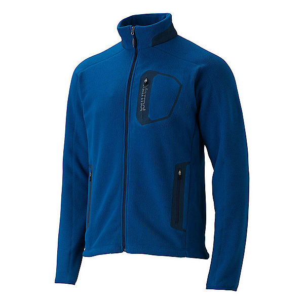 Marmot Alpinist Tech Mens Jacket, Blue Night-Dark Ink, 600