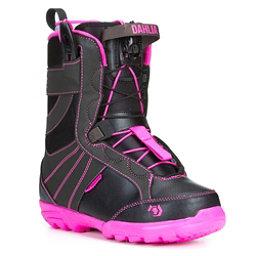 Northwave Dahlia SL Womens Snowboard Boots, Black-Pink, 256