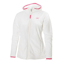 Helly Hansen Precious Fleece Womens Jacket, White, 256